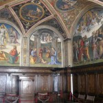 Perugino-frescoes-in-Collegio-del-Cambio,-late-15th-c,-early-16th-c