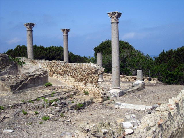 Columns-of-Roman-villa-2nd-AD