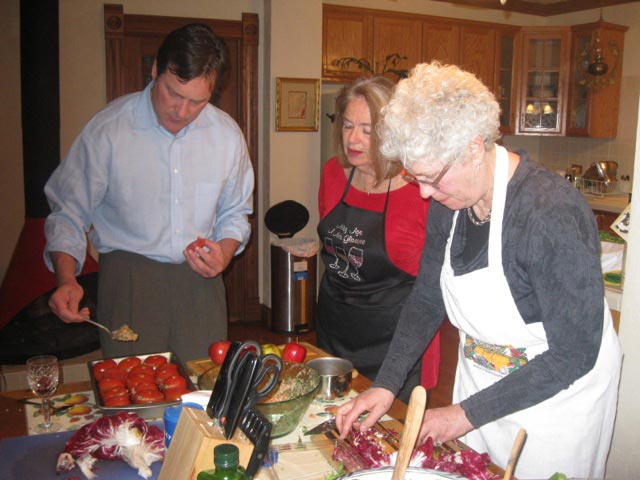Donna-checks-out-the-cooking-skills-of-her-guests