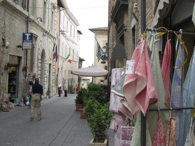 Montefalco-street-lined-with-textiles