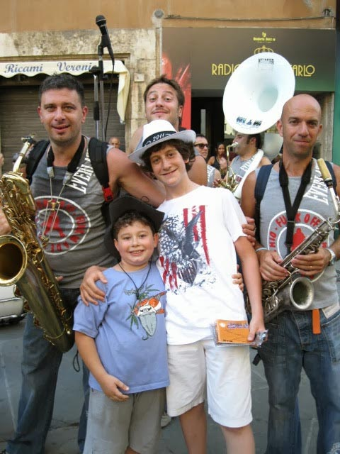 Funk-Off-musicians-with-young-fans.