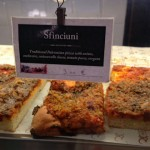 Sfincuini, traditional  Palermo pizza- caciocavallo needed!