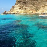 Splendid acquamarine water, rugged coastline-1
