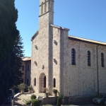 The chapel of the Istituto Serafico, 1st Papal stop on October 4