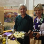 Alessandro offers Diane his olive oil with saffron