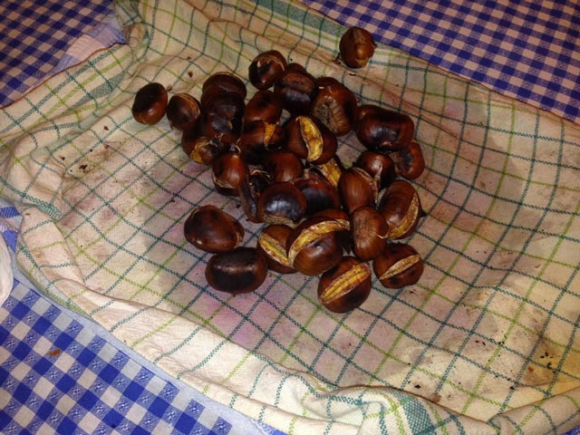 Chestnuts-sprinkled-with-wine
