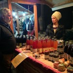 Organic-fruits,-juices-and-jams-at-the-market