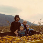 Our corn harvest, 1982