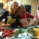 Judy and Vickie unite to cook Umbrian goodness