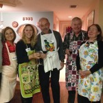 Old school friends join to cook and eat