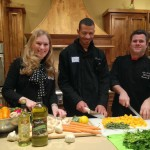 Cooking trio prepping for our Shreveport class