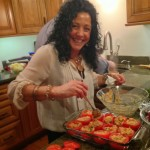 Debbie, the tomatoes look oven-ready