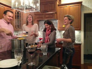 Good times in the kitchen!