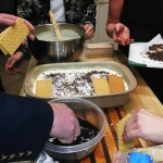 Graham crackers can make a great tiramisu!