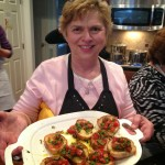Host Susan shares the bruschetta goodness