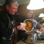 Mike and Shelly serve up the pasta