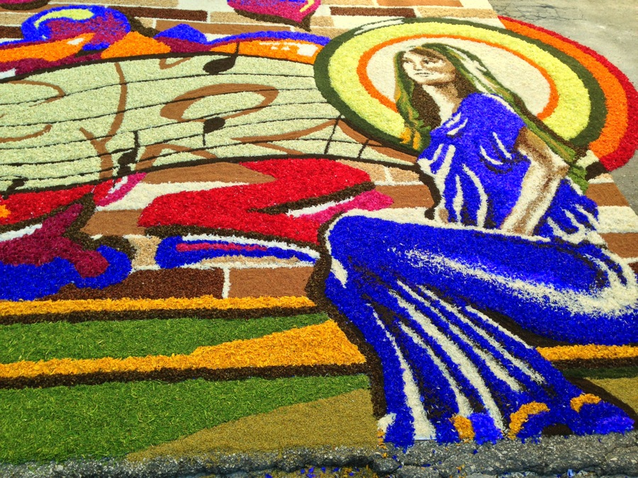 Vibrant colors highlight this Infiorata