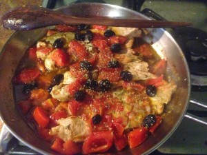 Turkey Breasts alla Pizzaiola