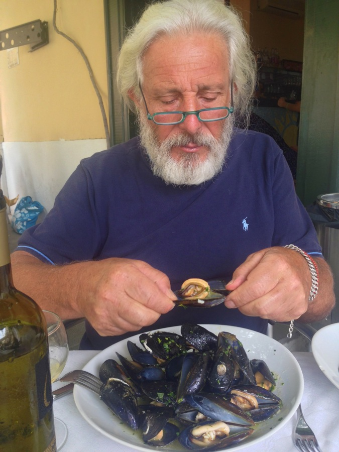 Cozze a soute' for Pino