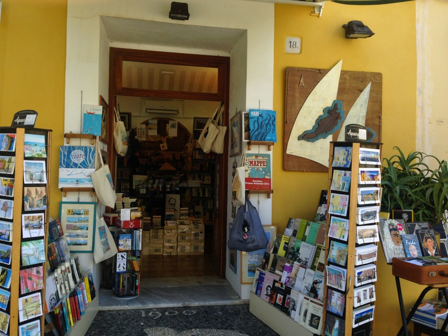 The bookstore is the heart of the island in many ways