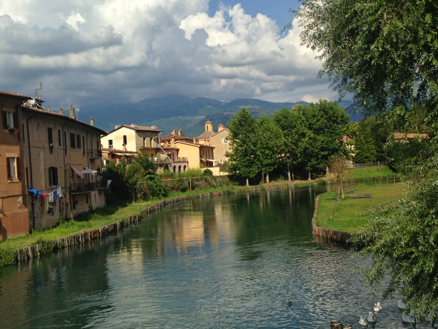Rieti on the Velino River