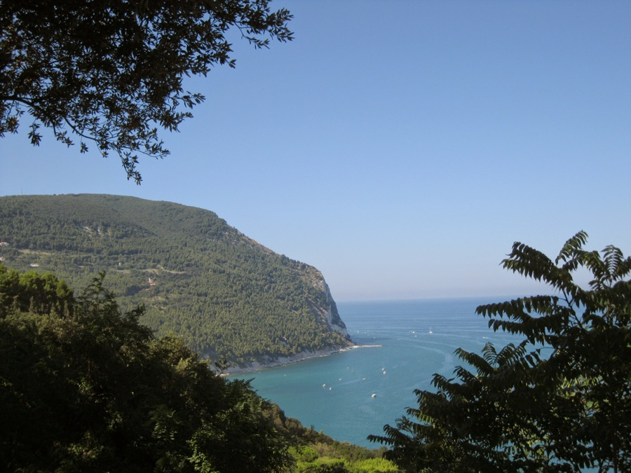 Seaview from the Sirolo belvedere