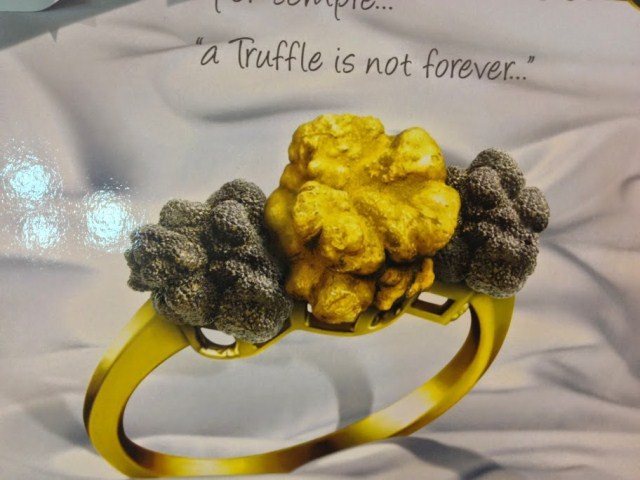 A truffle is not forever