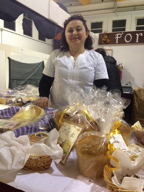Giuliva bakes all the goodness at her family water-powered mill