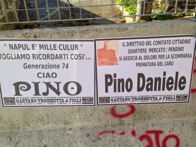 Funerary notices remember Pino
