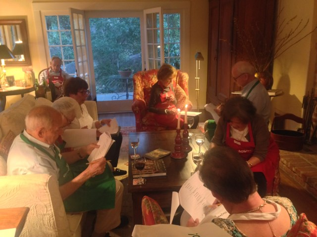 At Ed and Mary's, a pre-cooking Italian quiz!