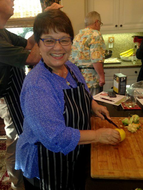 Kathie, good work on the peppers!