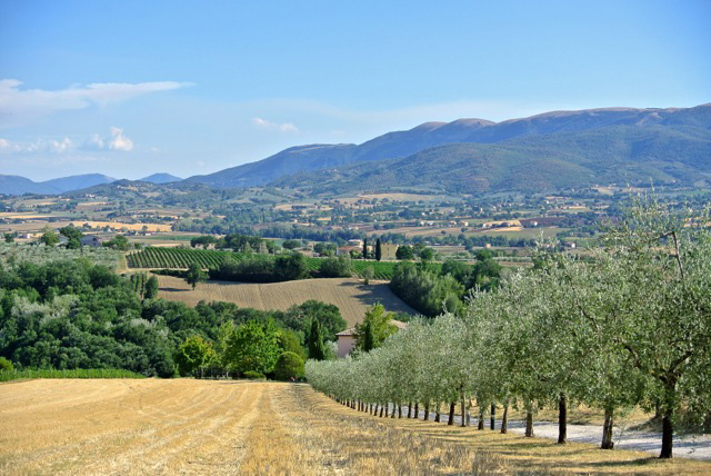 Julie captured Umbria's beauty with this one