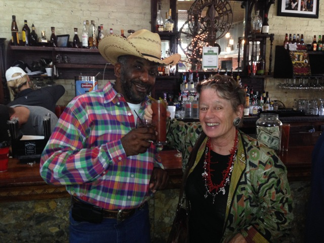 "Connecting with ""the locals"" at the Zydeco brunch in Breaux Bridge"