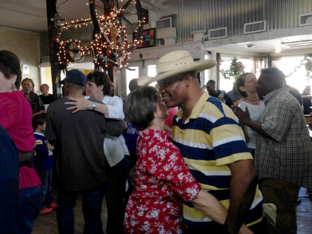 Dancing to Zydeco in Breaux Bridge, LA