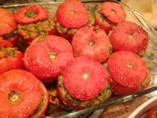 Giovanni's baked stuffed tomatoes