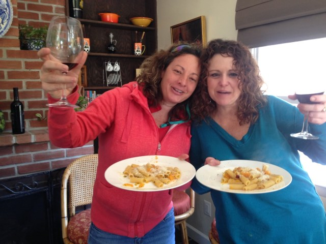 Jenny and Kim, united to share Umbrian goodness