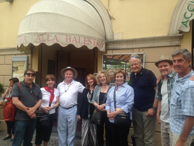 """Our group lived the """"Ceri passione""""  for a day on May 15"""