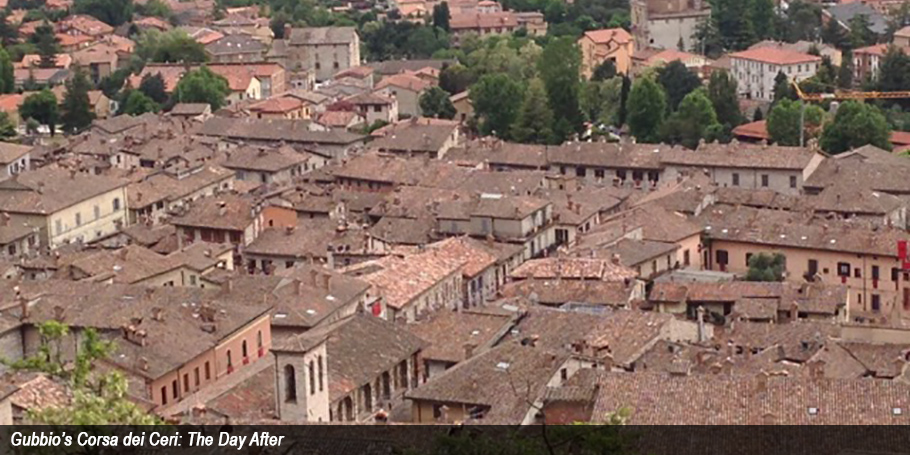 Gubbio the day after