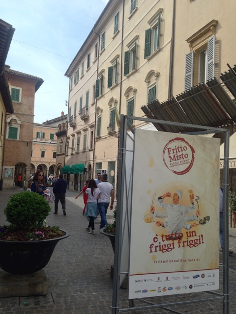 Fritto Misto draws people from all over to Ascoli Piceno