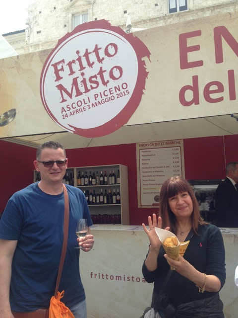 Enjoying the fritto misto