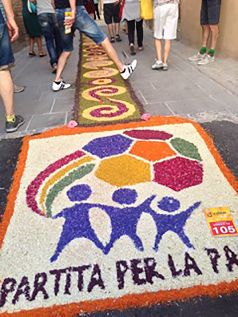 Tappetti Under 14 - floral masterpieces of the children