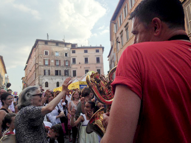Hot passione  of all ages for Umbria Jazz