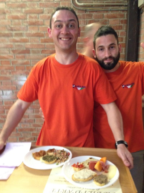 Volunteers of all ages unite to cook and serve up the goodness at Umbrian sagras