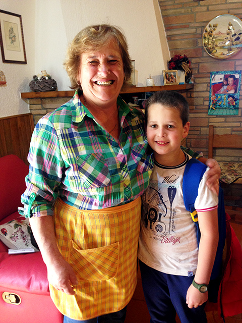 Giuseppa wants you to meet her beloved grandson, Edoardo