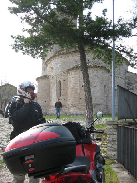 Our arrival at San Giusto