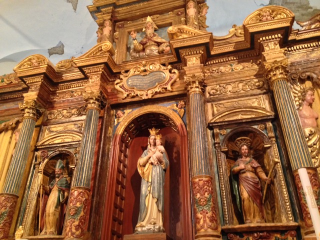 Majesty of S. Maria di Basciano altar