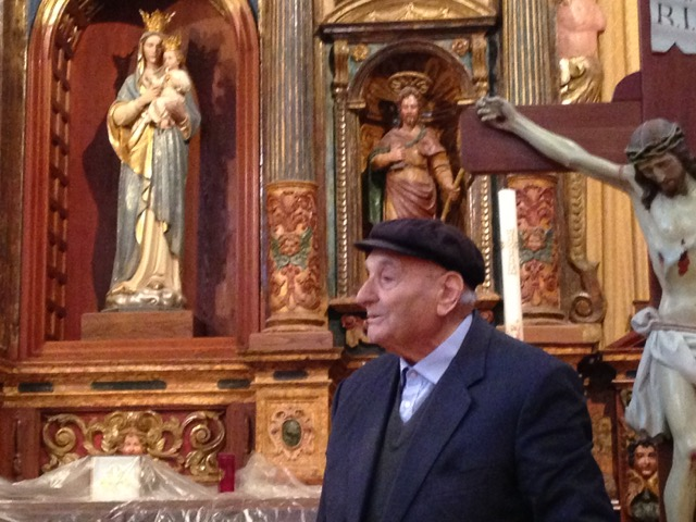 "Signor Biagio tells us, ""S.Maria di Basciano is dearer than my own home"""