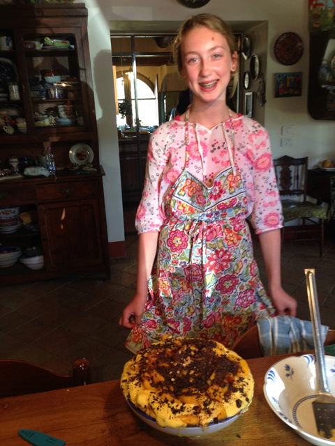 Cooking and sharing Umbrian flavors in our Assisi farmhouse