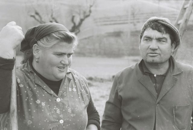 Our rural neighbors, dear friends, Peppe e Mandina (1976)