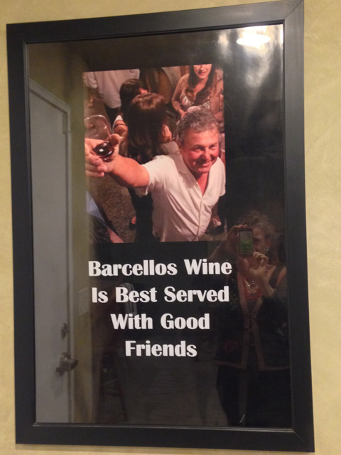 Welcome to the Barcellos Family Winery…
